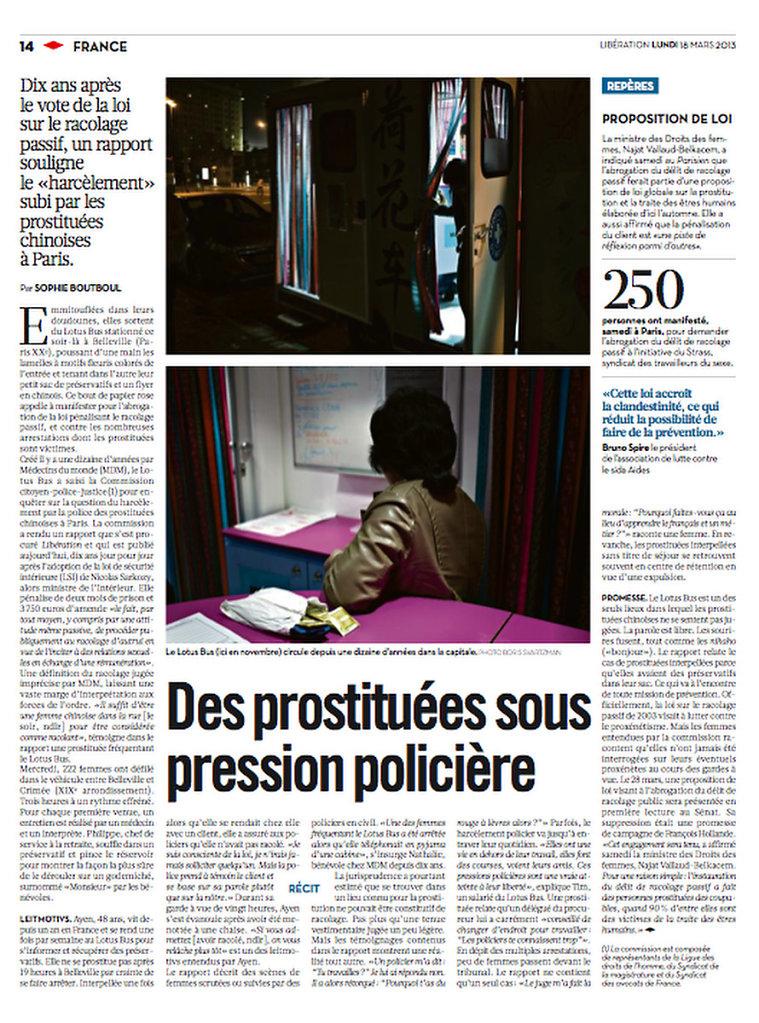 Libération, France, 2013